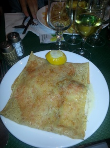 Salmon Crepe, simple but parfait