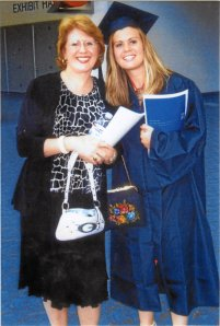 My Mom, Joanne and I at my college graduation 2006