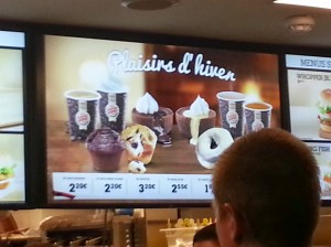"The ""speciality"" dessert selections at BK"