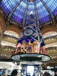 Only the best holiday flare at the Galeries Lafayette