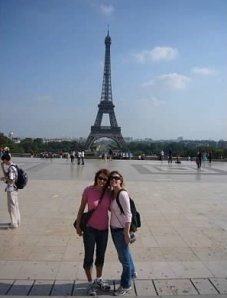 Ariane and I during my first visit in 2006