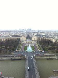 View of Jardins du Trocadero