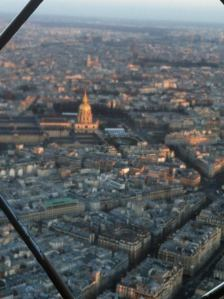 Beauty of Paris from the Summit