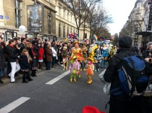 Colorful Dancers of Carnaval