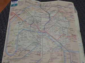 Ensure to get one of these pocket maps in the station