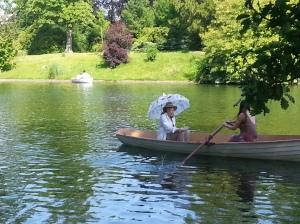Boat Ride in Bois de Boulogne