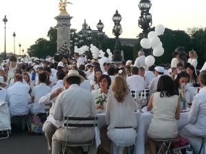 Diner En Blanc, Pont Alexandre 2014